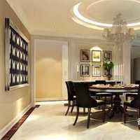 富裕型餐桌隔断80平米装修效果图