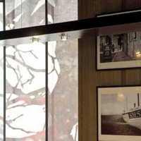 大户型简约欧式餐厅背景墙装修效果图