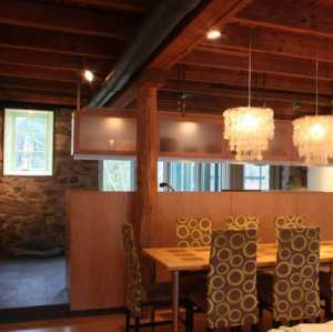 美式装修风格样板房客厅图片