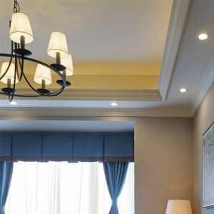 簡歐風格的二居室_ 2室一廳裝修效果圖