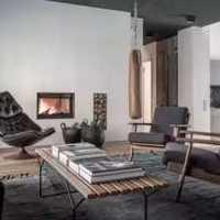 抱枕沙发背景墙客厅沙发装修效果图