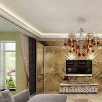 混搭二居室经济型客厅沙发装修效果图