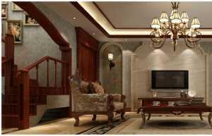 装修吊顶电视背景墙效果图现代简约