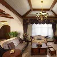 清新欧式两室两厅效果图