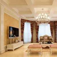 客厅三居大户型欧式装修效果图