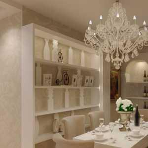 经典白色 创意欧式餐厅