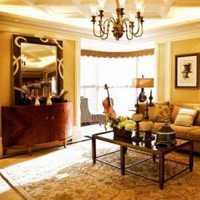 经典美式客厅装修效果图