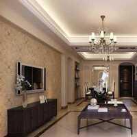美式客厅客厅吊灯复式楼装修效果图