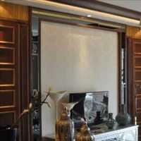 现代新中式复式楼客厅装修效果图