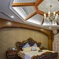 简约卧室欧式吸顶灯装修效果图