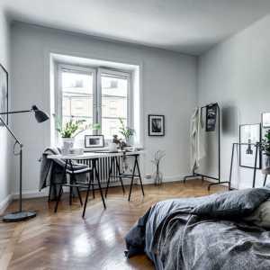 卧室梯形窗口
