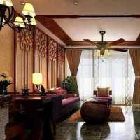 客厅稳重沙发别墅装修效果图