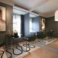 客厅硅藻泥背景墙效果图