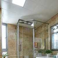 美式卫生间台上盆装修效果图