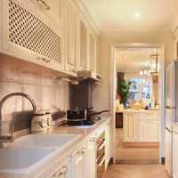 美式简约厨房窗户装修效果图