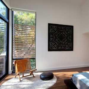 美式风格原木色斜顶厨房装修效果图