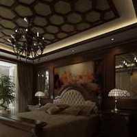 富裕型二居室臥室照片墻裝修效果圖