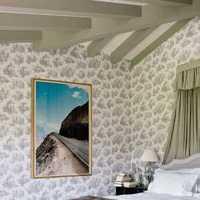 欧式沙发吊灯电视背景墙装修效果图