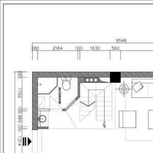 60平米新房装饰样板间