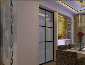 100平方小餐馆效果图装修设计