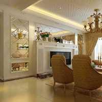 簡約風格三居室簡潔富裕型書房書桌效果圖