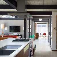 狹長型小廚房裝修效果圖