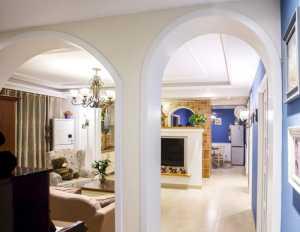 别墅背景墙装修效果图现代简约