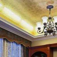 现代简欧别墅进门客厅玄关装修效果图
