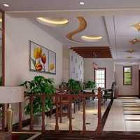 混搭风格四房奢华豪华型客厅灯具效果图