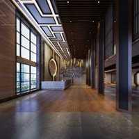 日式文化展示厅装修效果图