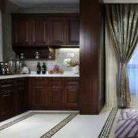 91-120平米三居室客厅简欧白色电视柜效果图