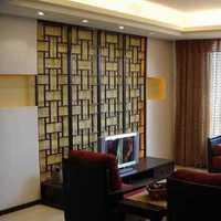 现代别墅起居室暖黄色地毯装修效果图