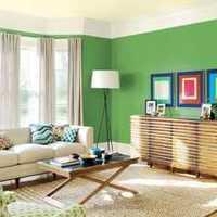 现代别墅丝质柔软窗帘客厅装修效果图