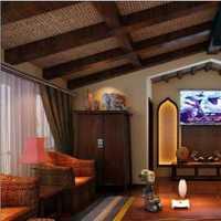 田园灯具二居室90平米装修效果图