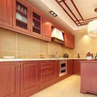 明朗典雅美式厨房装修效果图