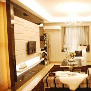 117平米的房子能装修成什么效果?现代风格三居室装修案例...