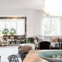 10932平米三室两厅一厨一卫简装修效果图