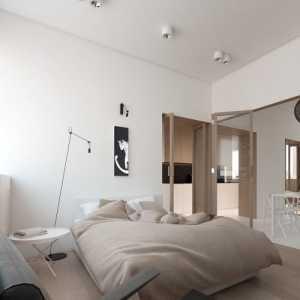 米色装修效果图卧室图片欣赏