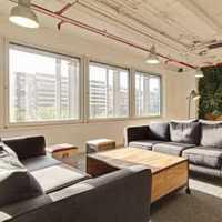 三居客厅吊灯沙发大户型装修效果图
