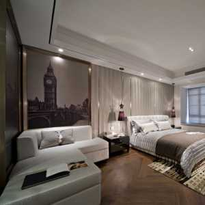 北京三室兩廳簡裝風格圖
