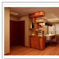 美式金迪玻璃木门装修效果图