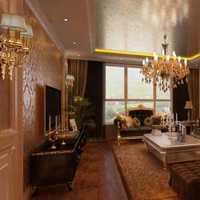 别墅客厅家具灯具客厅窗帘装修效果图