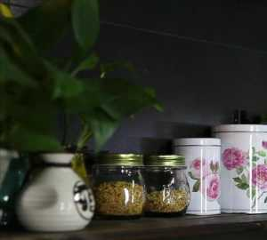 新古典别墅淡雅式厨房装修效果图