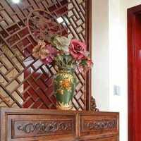 玄关玄关柜混搭富裕型装修效果图