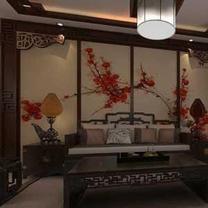 浅色地板北京石地板客厅装修