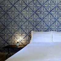 壁纸卧室背景墙墙面卧室装修效果图