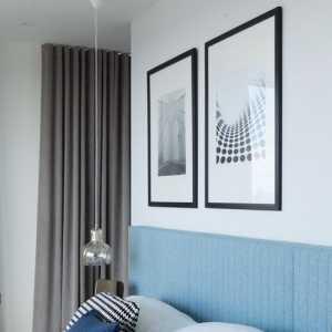 大戶型別墅地中海臥室效果圖