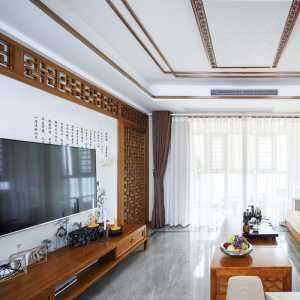 整木中式客厅