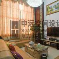 沙发背景墙三居大户型客厅装修效果图