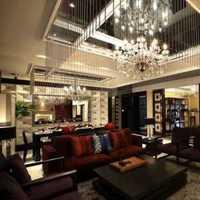 中式客厅错层客厅装修效果图